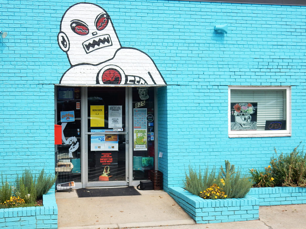 Lunchbox Records - Charlotte NC - robot