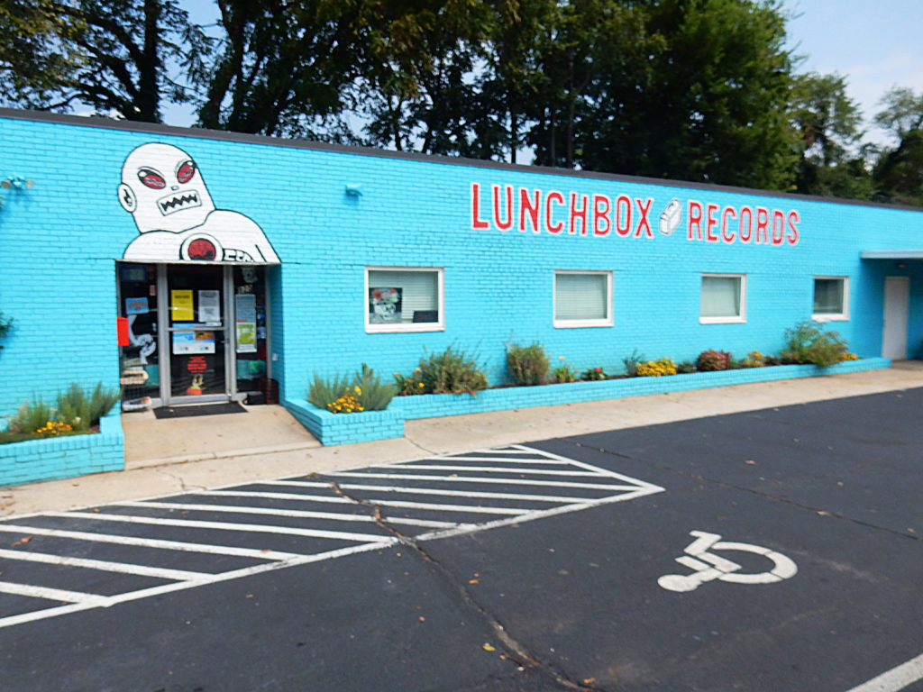 Lunchbox Records - Charlotte NC - store front