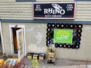 Rhino Records New Paltz Church Street Store Front