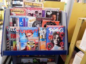 Rhino Records New Paltz Church Street magazines