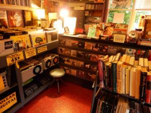 Rhino Records New Paltz Water Street Market store interior
