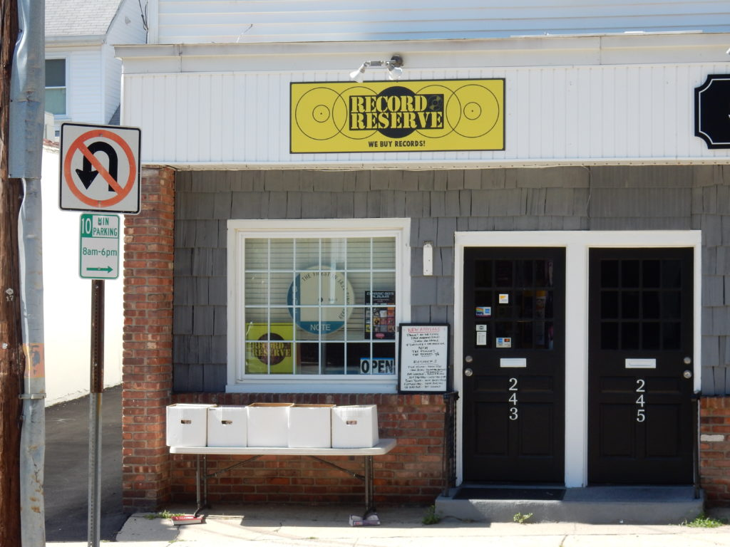 Record Reserve - Northport (Long Island) New York - store front
