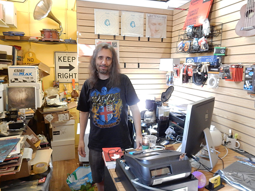Record Reserve - Northport (Long Island) New York - store owner Tim Clair