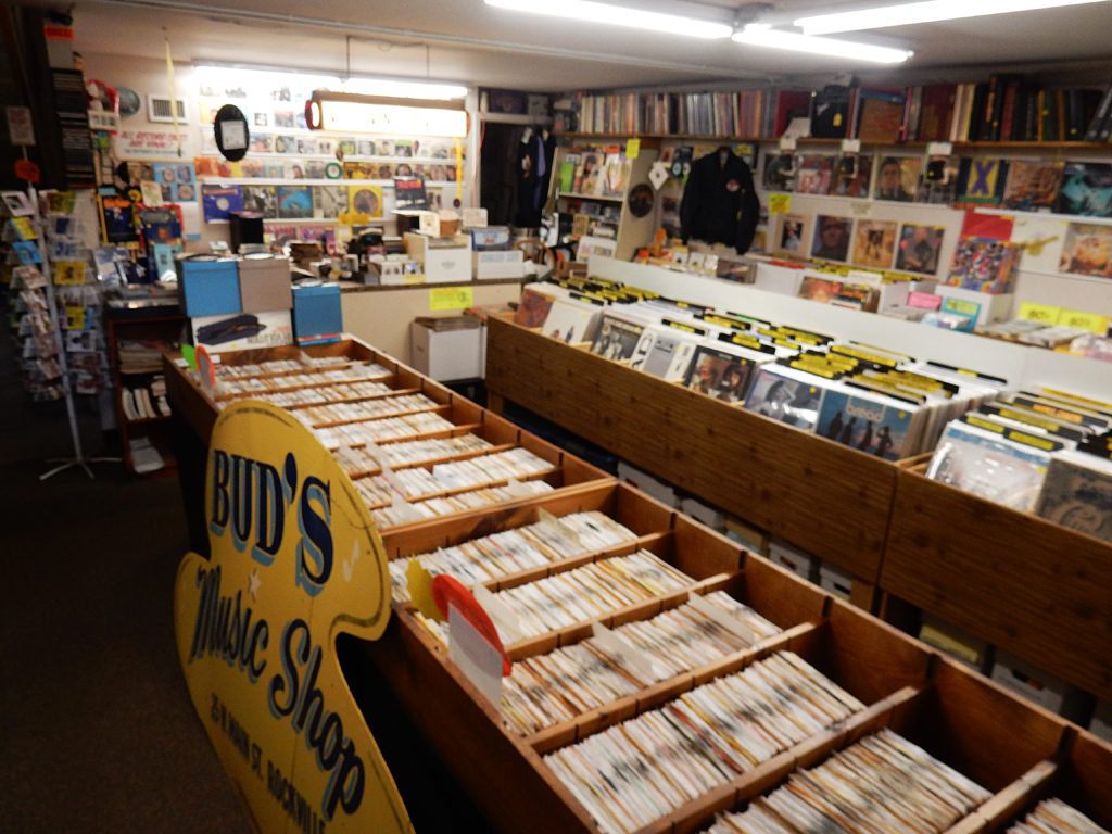 Vernon Vintage Vinyl - store interior