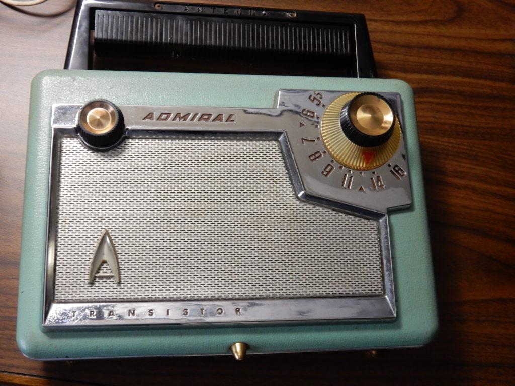 Admiral Model 228 transistor AM radio