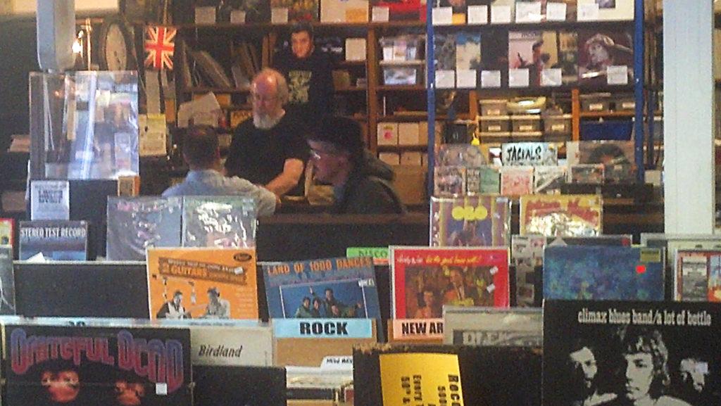 Crossroads Music Portland Oregon store interior