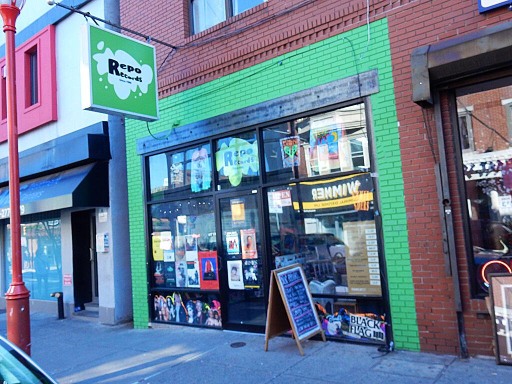 Repo Records Philadelphia PA Store Front