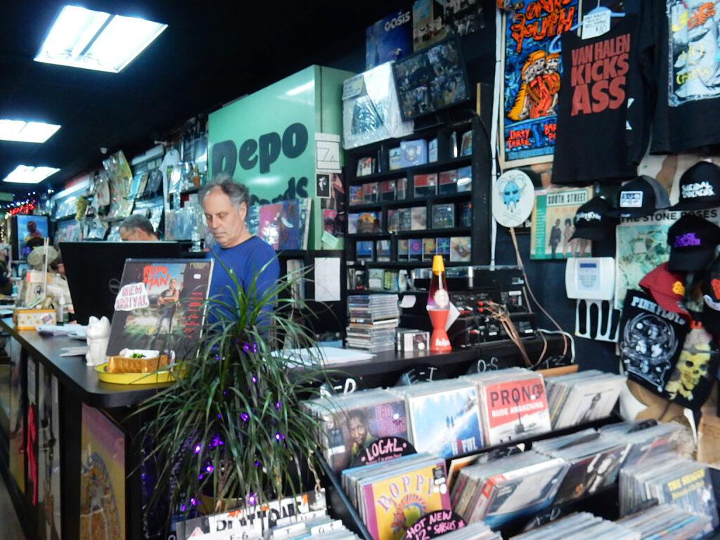 Repo Records Philadelphia PA - store owner Dan Matherson